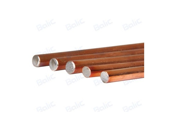 What are the characteristics of copper clad steel grounding round wire?