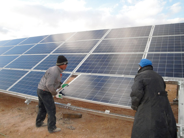 Photovoltaic Field Integrated Grounding