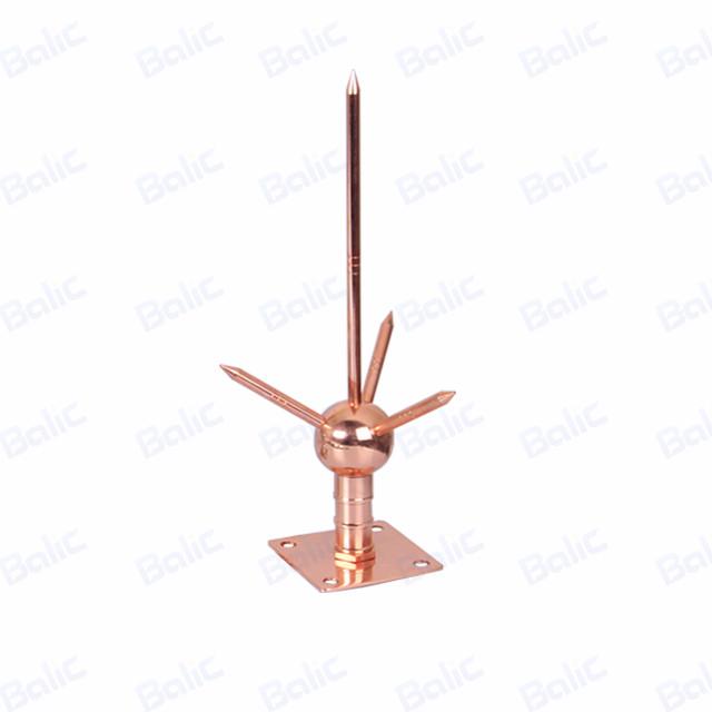 Copper Clad Steel Or Stainless Steel Lightning Arrester-Balic