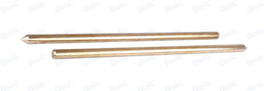 Solid Copper Ground Rod, Pointed (8)