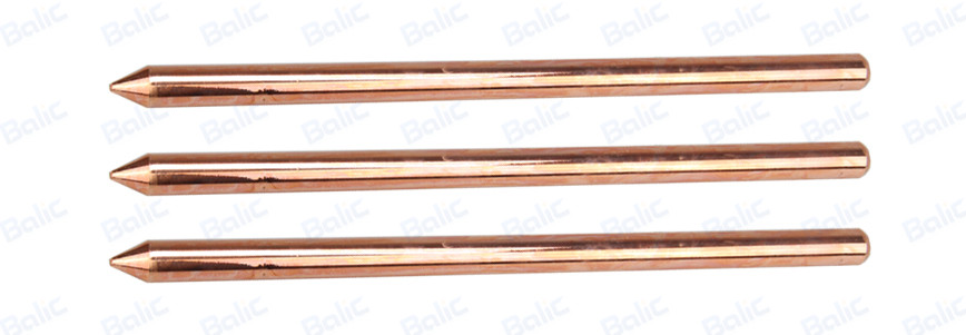 Solid Copper Ground Rod, Pointed (9)