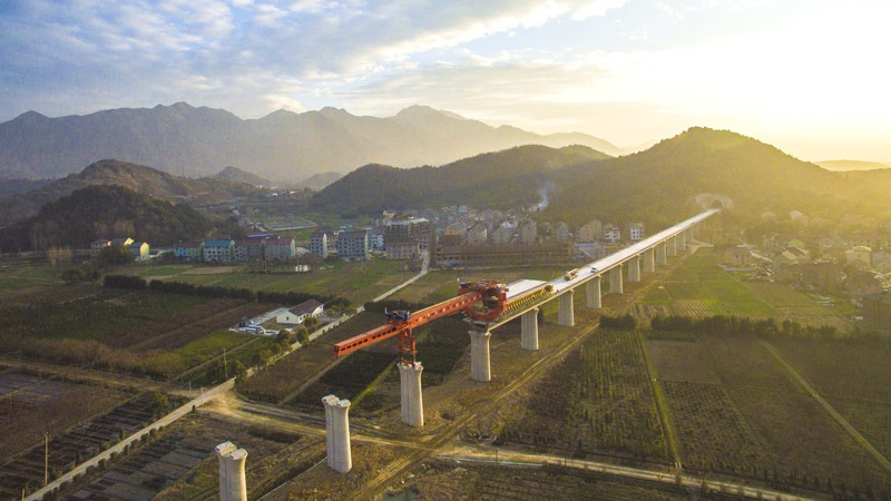 """After the construction of the """"four powers"""" integration and related projects from Hangzhou to Huangshan Railway Station, Balic stood out"""