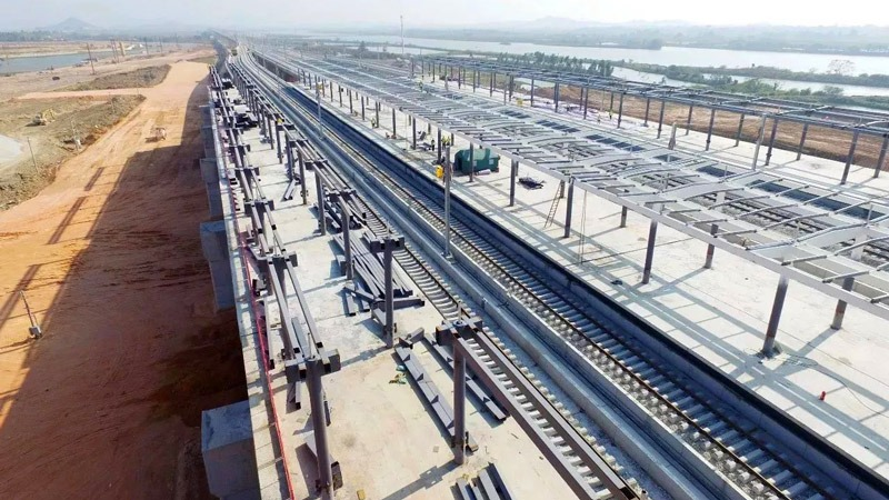 After the new four-electricity integration project of the Jiangmao section of the Shenmao Railway, Balic stand out