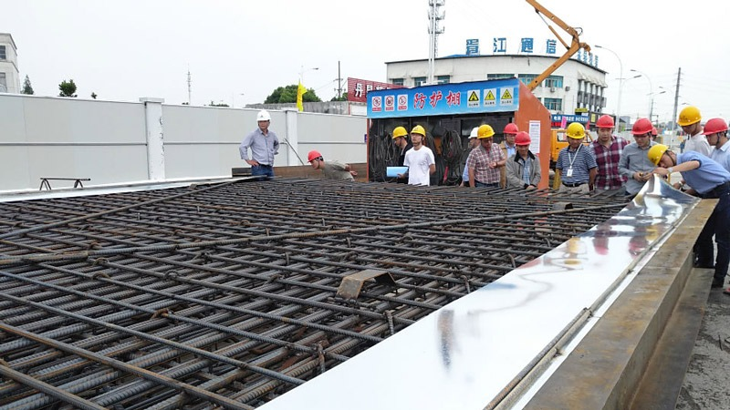 Suzhou Rail Transit Line 5 grounding grid construction and installation project, Balic stood out