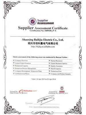 Balic BV Certification