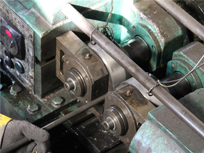 Grounding screw rolling process