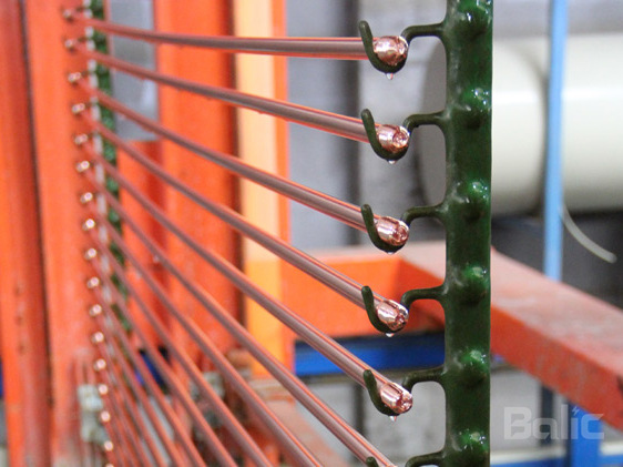 Grounding copper plating process